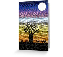 Baoab Tree Greeting Card