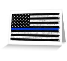 Those In Blue Greeting Card