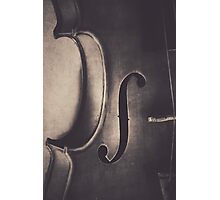 A Whisper of a Tune in Black and White Photographic Print