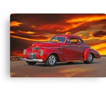 1939 Chrysler Royal Coupe Canvas Print