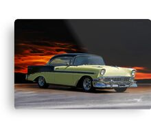 1956 Chevrolet Bel Air  Metal Print