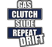 Gas clutch slide drift Photographic Print