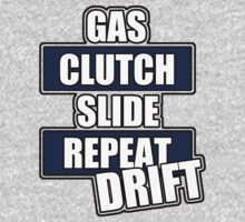 Gas clutch slide drift Kids Clothes