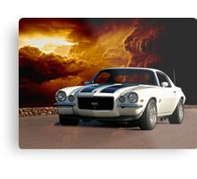 1970 Chevrolet Camaro 'Awesome SS' Metal Print