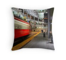 San Diego Downtown Trolley - Time to Go! Throw Pillow
