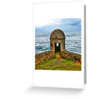 La torre del Cuartel Greeting Card