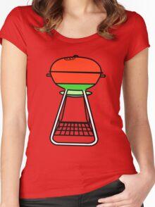 B-B-Q Women's Fitted Scoop T-Shirt