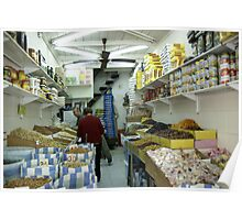 The dry fruits shop Poster