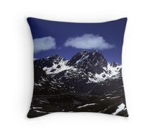 IN THE AUSTRIAN ALPS    (1) Throw Pillow