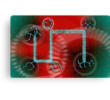 ODD CIRCUITS - Inversal Transference Canvas Print