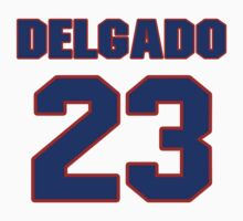 National baseball player Puchy Delgado jersey 23 by imsport