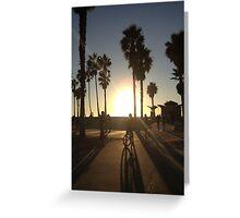 Venice Beach Greeting Card