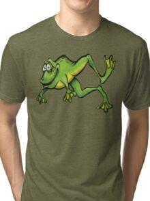 Frog Tri-blend T-Shirt