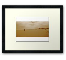 Tasmanian Beach Framed Print