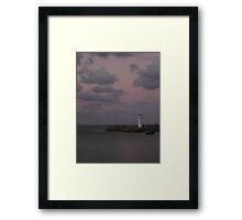 dusk 2 Framed Print