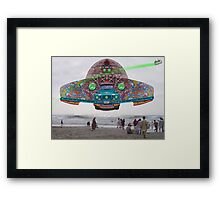 The Pakistani Starfleet's newest flagship, the P.S.F Abdus Salam Framed Print