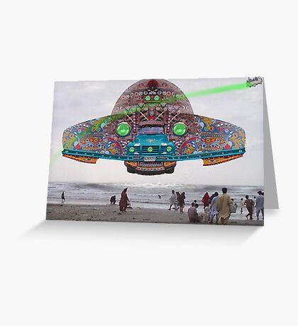 The Pakistani Starfleet's newest flagship, the P.S.F Abdus Salam Greeting Card