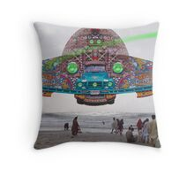The Pakistani Starfleet's newest flagship, the P.S.F Abdus Salam Throw Pillow