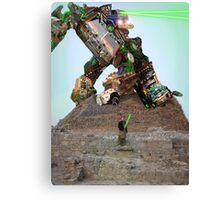Labib Bin Akbar and His Kalam Kickbot VDZ 3-5000 Canvas Print