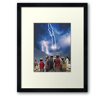 Pakistani Starship Hyper Drive Renewable Resource Framed Print