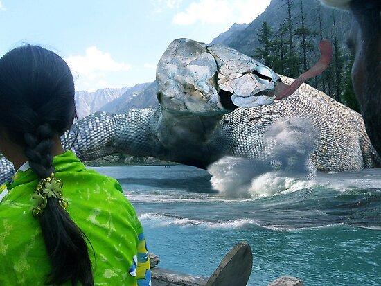 The Saiful Muluk lake Monster by Kenny Irwin