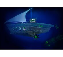 Pakistan's Deep Sea Dhowmarine Sub Division Photographic Print