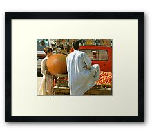Firoz, Where did you find that???? Framed Print