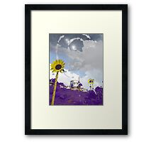 Ursa Major Constellation Masjid Framed Print