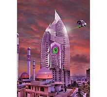 The New Lahore Skycity Pakistani Starfleet Headquarters Photographic Print