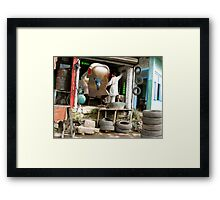 The Mounting dOve Resistance of ZolopigeOnar Framed Print