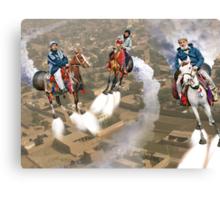 Peshawar پشاور Cronosphere Rocket Horse Racers Canvas Print