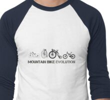 Mountain Bike Evolution Men's Baseball ¾ T-Shirt
