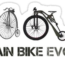 Mountain Bike Evolution Sticker