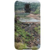 Below Iguazu Falls Samsung Galaxy Case/Skin