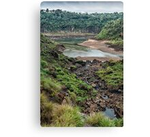 Below Iguazu Falls Canvas Print