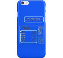 All out of F*cks (Explicit) iPhone Case/Skin