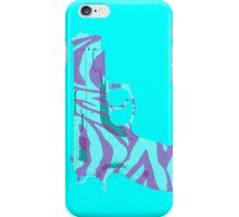 Pink Zebra Print iPhone Case/Skin