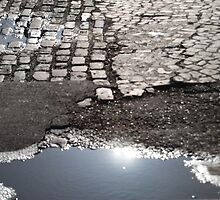 Puddles, Cobbles and Sunshine by Karen Martin