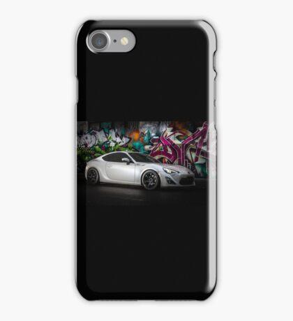 Pegasus White 86 GTS iPhone Case/Skin