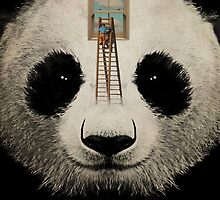 Panda window cleaner 03 by Vin  Zzep