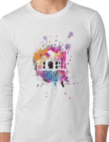 Colorful Taj  Long Sleeve T-Shirt