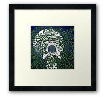 The Earth Goddess Framed Print