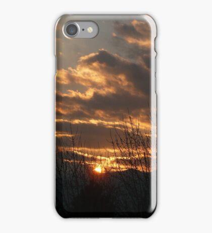 Colorado Sunset ... Colorado Springs iPhone Case/Skin
