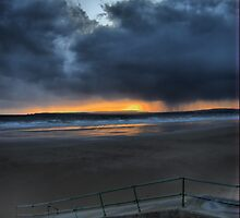 swansea bay from port talbot by zacco