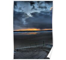 swansea bay from port talbot Poster