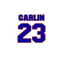 National baseball player Jim Carlin jersey 23 Photographic Print
