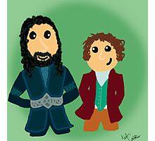 Bilbo & Thorin Photographic Print