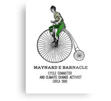 Climate change commuter Metal Print