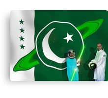 The Brave Men & Women Heroes of the Pakistani Starfleet Canvas Print