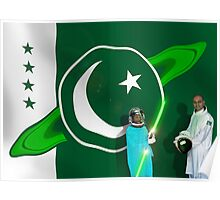 The Brave Men & Women Heroes of the Pakistani Starfleet Poster